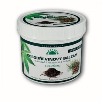 Kosodřevinový balzám s rašelinou a konopím, 500ml