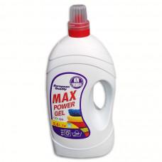 Max Power gel 5,6 L tekutý prací prostředek