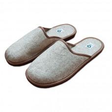 Pantofle filcové uzavřené pánské