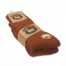 Ponožky z ovčí vlny 425 g - CAMEL sada 2 ks
