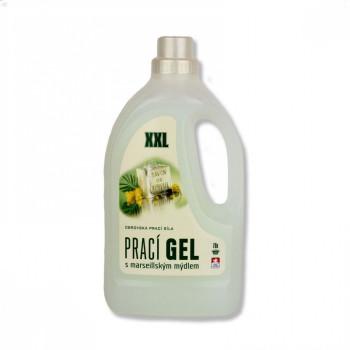 Prací gel s marseillským mýdlem 3L