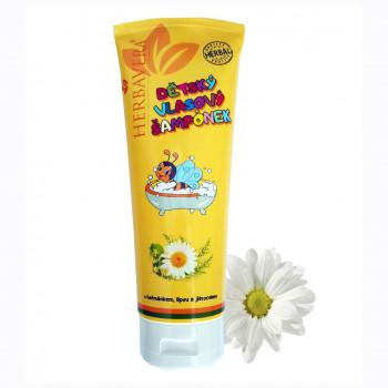 Dětský vlasový šampon tuba 250 ml