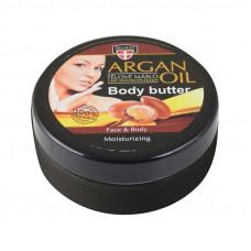 Arganový olej tělové máslo, 200 ml