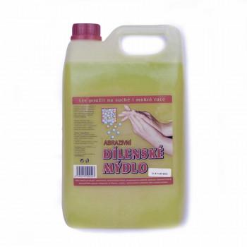 Dílenské tekuté mýdlo ABRAZIVNÍ, 5 Litrů