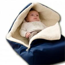 Dětský vlněný fusak - deka do kočárku