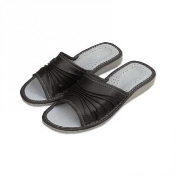 Dámské pantofle černé
