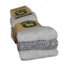 Ponožky z ovčí vlny - sada 3 ks