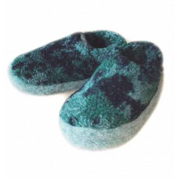 Vlněné pantofle maskáčové