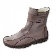 Dámské zimní boty kávové