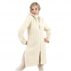 Vlněný kabát s kapucí LINEA