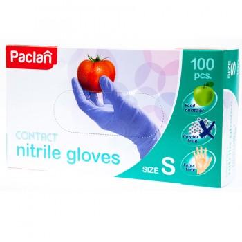PACLAN nitrilové rukavice modré 100 ks