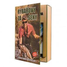 BOHEMIA Kosmetická sada Kniha pro rybáře – gel 200 ml a šampon 200 ml