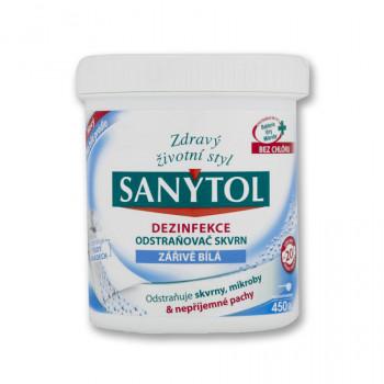 SANYTOL Dezinfekční odstraňovač skvrn bělící, 450 g