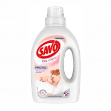 SAVO Bez chloru Sensitive prací gel pro citlivou pokožku, 1 l