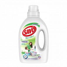 SAVO Universal bez chlóru prací gel na bílé a barevné prádlo 20 PD 1 L